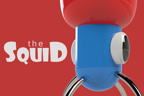 The Squid: Handheld Mixer